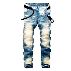 Other - Slim Washed Bikers Jeans